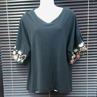 スカラー(ScoLar)のScoLar半袖カットソー サイズM(Tシャツ(半袖/袖なし))