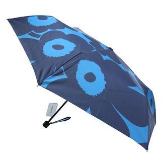 マリメッコ(marimekko)のマリメッコ  ウニッコ柄 カサ 折りたたみ傘 手開き 北欧 レディース(傘)