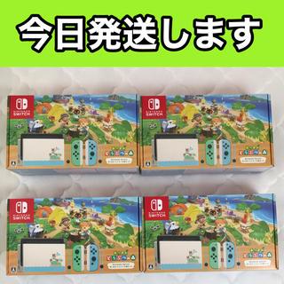 Nintendo Switch - Nintendo Switch 4台 どうぶつの森セット