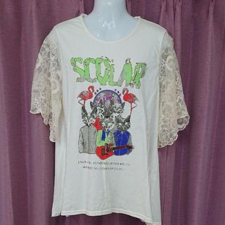 スカラー(ScoLar)のScoLar 半袖Tシャツ サイズM(Tシャツ(半袖/袖なし))