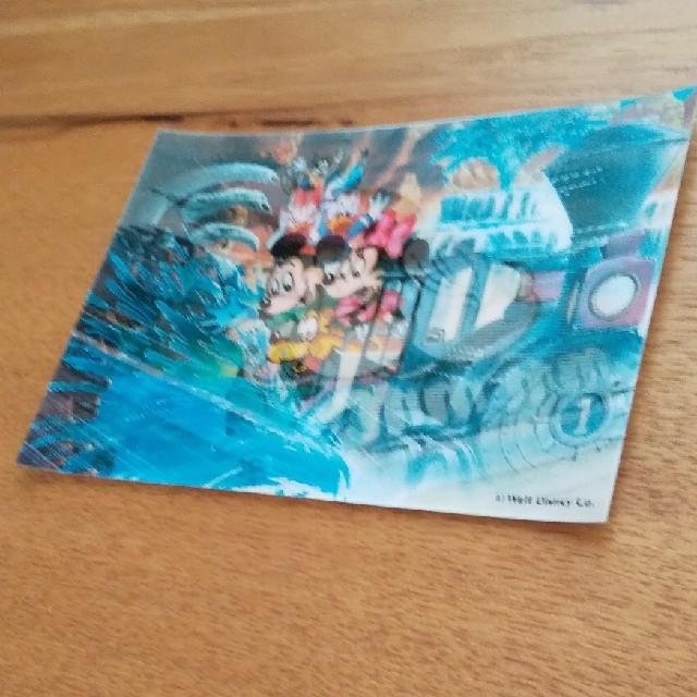 Disney(ディズニー)のディズニーの角度で絵が変わるポストカード エンタメ/ホビーのおもちゃ/ぬいぐるみ(キャラクターグッズ)の商品写真