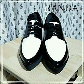 ランダ(RANDA)の新品RANDAオックスフォードシューズ(ローファー/革靴)