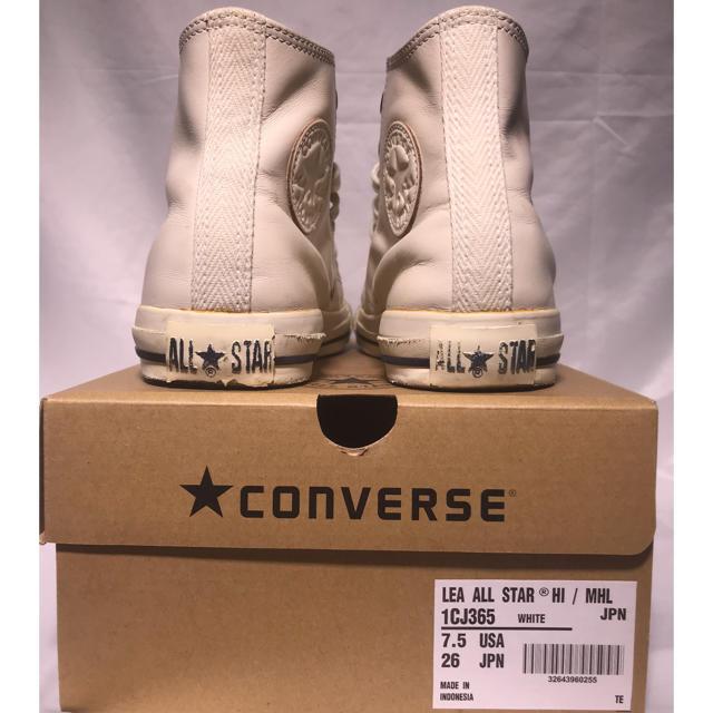 MARGARET HOWELL(マーガレットハウエル)のMHL. × CONVERSE CHUCK TAYLOR 26.0cm メンズの靴/シューズ(スニーカー)の商品写真