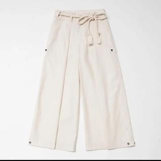 Yohji Yamamoto - toggle Leash Belt 2Way Wide Pants