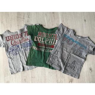 DENIM DUNGAREE - デニム&ダンガリー  半袖 男の子 Tシャツ 110 3枚セット