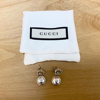 グッチ(Gucci)の正規品◆GUCCI◆ピアス クリスタル(ピアス)