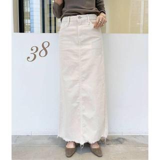 L'Appartement DEUXIEME CLASSE - 【UPPER HIGHTS】Corduroy Long スカート 38