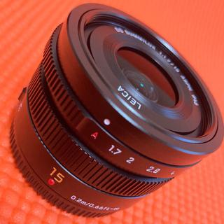 パナソニック(Panasonic)のパナソニック LEICA DG SUMMILUX 15mm F1.7 ASPH.(レンズ(単焦点))