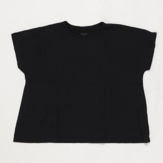 マーキーズ(MARKEY'S)の最終値下げ✧︎MARKEY'S☺︎ABONDリラックスカットソー ブラック(Tシャツ/カットソー)