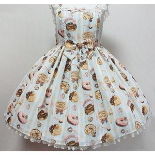 Angelic Pretty - アンプリティ  Melty Cream ドーナツ ジャンパースカート