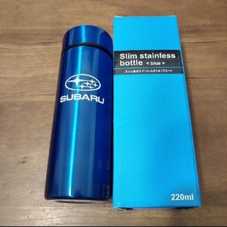 スバル(スバル)のSUBARU スリムステンレスボトル220ml(弁当用品)