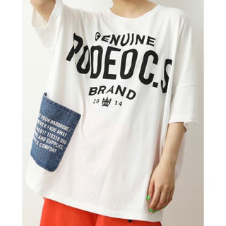 RODEO CROWNS WIDE BOWL - ❤新品未使用RODEO CROWNSデニムポッケTシャツ❤