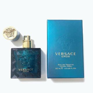 ヴェルサーチ(VERSACE)のヴェルサーチ エロス EDT 30ml(香水(男性用))
