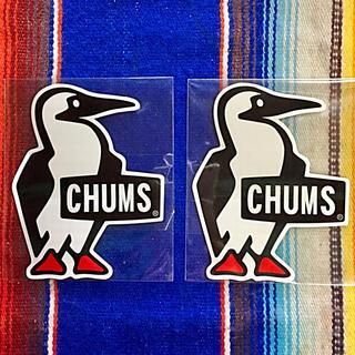 チャムス(CHUMS)の新品 CHUMS Sticker 2枚セット チャムス ステッカー d(その他)