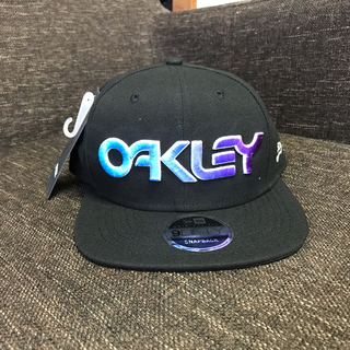 Oakley - ☆ NEWERA ニューエラ OAKLEY オークリー コラボ キャップ 新品☆