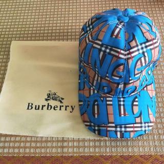 バーバリー(BURBERRY)のBurberry モノグラムプリントコット ボールキャップ(キャップ)