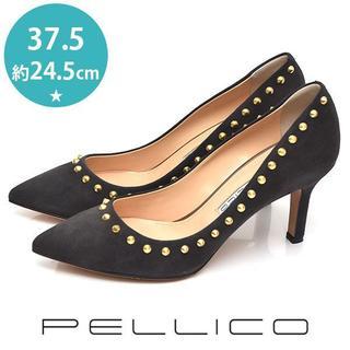 PELLICO - 新品❤ペリーコ 定価5.7万 スタッズ パンプス 37.5(約24.5cm)