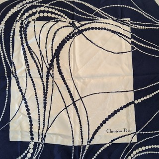 クリスチャンディオール(Christian Dior)のクリスチャン・ディオール スカーフ(バンダナ/スカーフ)