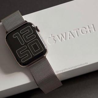 アップルウォッチ(Apple Watch)のApple Watch series 5 GPSモデル 40mm(腕時計(デジタル))