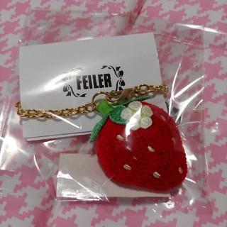 FEILER - 【新品】フェイラー ストロベリー型チャーム