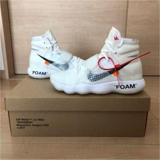 OFF-WHITE - Nike react hyperdunk 2017 off white 29㎝