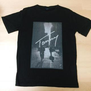 TOMMY HILFIGER - トミーヒルフィガー ロゴTシャツ ブラック