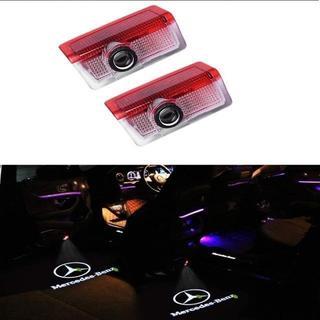 HAOHAOYUN LED投影 ゴーストシャドウ メルセデスベンツ Cクラス E(蛍光灯/電球)