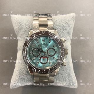 IWC - 大人気デイトナアイスブルー腕時計 メンズウォッチ 翌日発送