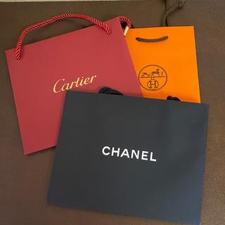 シャネル(CHANEL)の美品☆ブランドショップ袋3枚セット(ショップ袋)