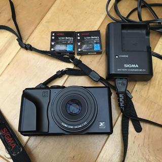 シグマ(SIGMA)のSIGMA dp2 バッテリー2個(コンパクトデジタルカメラ)