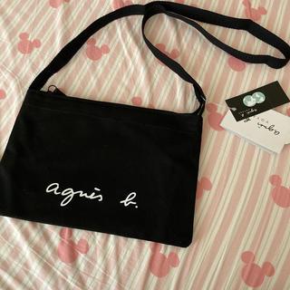 agnes b. - アニエスベー❤️サコッシュ❤️ショルダーバッグ❤️黒❤️新品タグ付