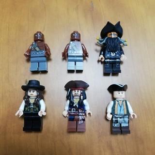 レゴ(Lego)のレゴ パイレーツ・オブ・カリビアン ミニフィグ 6体(キャラクターグッズ)