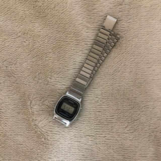 カシオ(CASIO)のカシオ 腕時計 レディース シルバー(腕時計(デジタル))