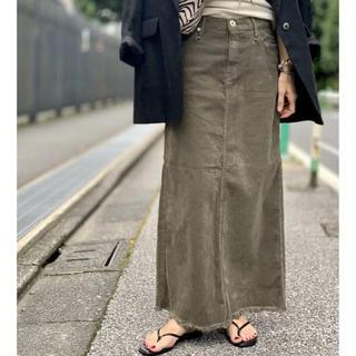 L'Appartement DEUXIEME CLASSE - サイズ36 アッパーハイツ Corduroy Long スカート