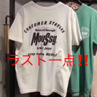 moussy - MOUSSY  Tシャツ early moussy logo ロゴ