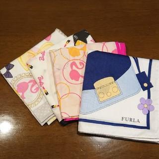 Furla - ハンカチ4枚セット FURLA、Barbie