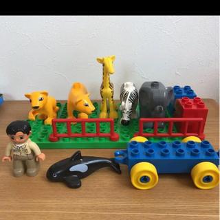 レゴ デュプロ ブロック 動物 車