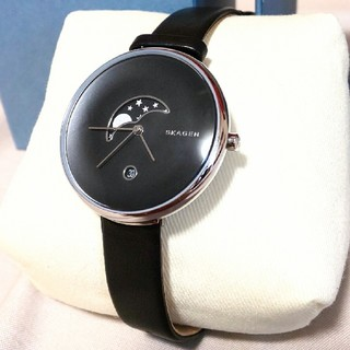 SKAGEN - 【新品・訳あり】SKAGEN GITTE 腕時計 ムーンフェイズ SKW2372