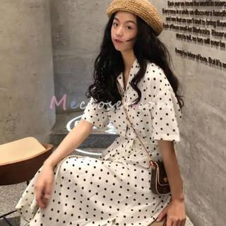 ディーホリック(dholic)のKorea dress♡ ドットワンピース(ひざ丈ワンピース)