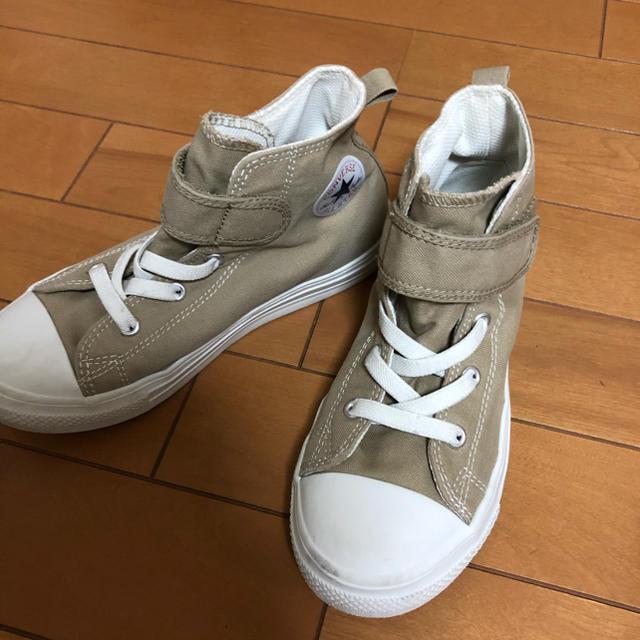 CONVERSE(コンバース)のキッズ コンバース ハイカット スニーカー 21cm キッズ/ベビー/マタニティのキッズ靴/シューズ(15cm~)(スニーカー)の商品写真