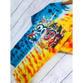 ディズニー(Disney)の正義VS悪。超限定最高映えディズニーTシャツ炎と水 ZARA STUSSY 論理(Tシャツ/カットソー(半袖/袖なし))