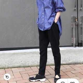 エンフォルド(ENFOLD)のENFOLD ジョッパーズパンツ 合わせやすい濃紺ネイビー 38(カジュアルパンツ)