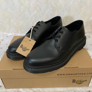 ドクターマーチン(Dr.Martens)のドクターマーチン モノ ブラック 1461 3ホール UK8(ブーツ)