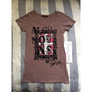 アルゴンキン(ALGONQUINS)の👚🇬🇧ALGONQUINSのユニオンジャック長〜いTシャツ👚🇬🇧(Tシャツ(半袖/袖なし))