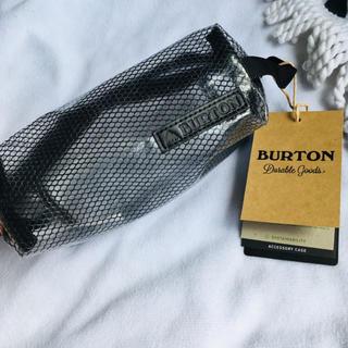 BURTON バートン アクセサリーケース メッシュ ビニール ポーチ 小物入れ