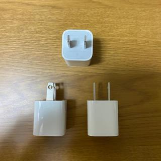 アップル(Apple)のACアダプター iPhone    未使用 自宅保管(変圧器/アダプター)