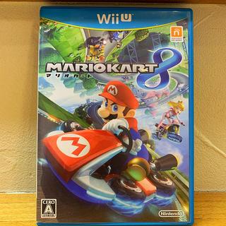 ウィーユー(Wii U)のマリオカート8 Wii U【ジャンク品】(家庭用ゲームソフト)