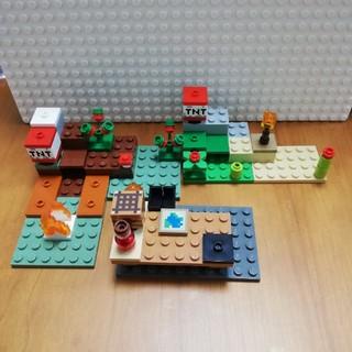 レゴ(Lego)のレゴ マインクラフト 地形3個セット(キャラクターグッズ)