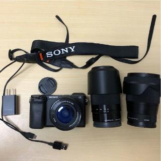 SONY - α6400ズームレンズキット+sigma16mm f1.4