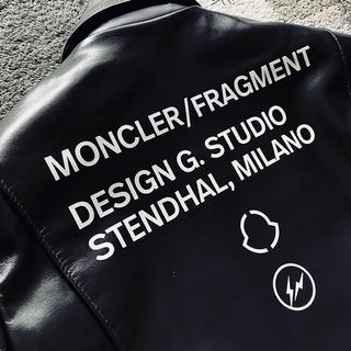 モンクレール(MONCLER)のサイズ2 moncler×Lewis Leathers×flagment(ライダースジャケット)
